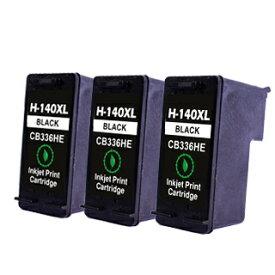 【永久保証】 HP140 黒3個 【互換インクカートリッジ】 日本HP用 【送料無料】 HP Officejet J5780 J6480 Photosmart C4380 C4275 C4480 C4486 C4490 C4580 C5280 D5360