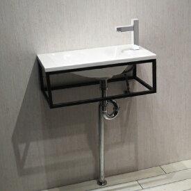 洗面台セット お得 壁付け 人工大理石 白・ホワイト W550×D280×H200 | 【IDS-7】