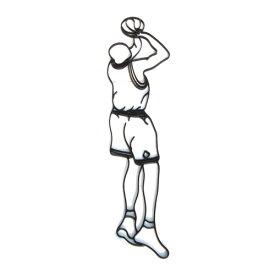 アイアン飾り(妻飾り・壁飾り・オーナメント・バスケットボール) INK-1401067H