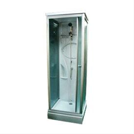 シャワーブース コンパクト スモークガラス W765×D765×H2200 INK-8039-3s