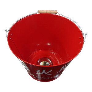 【受注生産品】洗面ボウル おもしろ 消火用バケツ 赤 INK-B-BOUL2