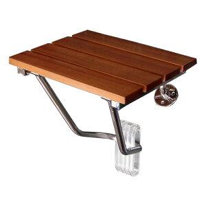 壁付けイス 簡易椅子 玄関ベンチ コンパクト 収納タイプ 折りたたみ 木 ウッド   品番k-isu-wood
