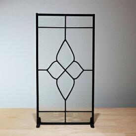 ステンドグラス(アンティーク風・装飾ガラス・シンプル・雑貨・お洒落) INK-1103005H