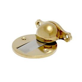 ドアストッパー 戸当り 室内 磁石 マグネット 若干キズあり 金 ゴールド | 品番INK-1205005H