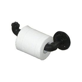 ペーパーホルダー ガス管 おしゃれ インダストリアル タオル掛け・アイアンフック・インテリア W200×D90×H70 INK-1401109H