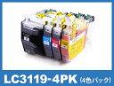 LC3119-4PK ブラザー(brother)用 互換インク(プリンターインクカートリッジ)1年保証 あす楽 MFC-J6980CDW MFC-J6580CDW