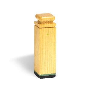 法人印鑑・角印(社印・会社印)[ウッドメイトゴム印・黒ゴム]5号・印面約15x15mm