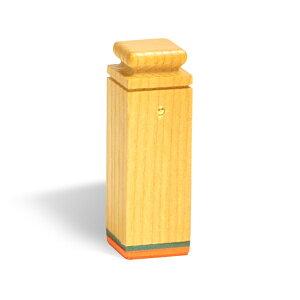 先生印(資格印・職印・士業印)角印[ウッドメイトゴム印・赤ゴム]6号・印面約18x18mm