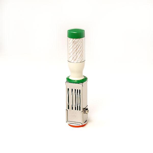 サンビー・テクノタッチデーター・CR型[TR-CR6]・日付印/受領印[本西暦4桁]丸型・6号丸・18mm