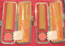 個人印鑑2本セット 白檀 実印13.5mm+銀行印12mm