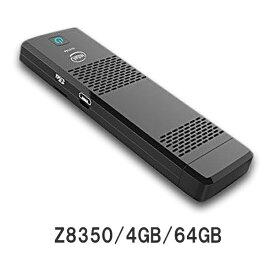 M1S スティック型パソコン Compute Stick (インテル Atom x5-Z8350/4GB/64GB/Win10 64Bit)高性能 デスクトップ 保証1年 送料無料!