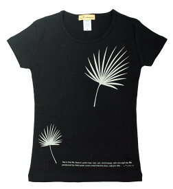 レディース シンプルモダン Tシャツ。ワシントンヤシ フラダンス
