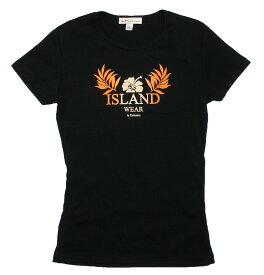ハイビスカス アイランド Tシャツ。レディース フラダンス