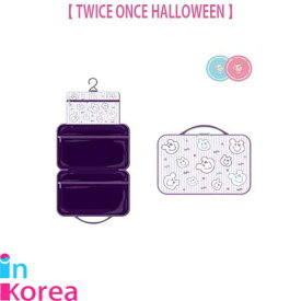 TWICE 旅行用 ポーチ / K-POP TWICE ONCE HALLOWEEN OFFICIAL GOODS TRAVEL POUCH トゥワイス 公式グッズ