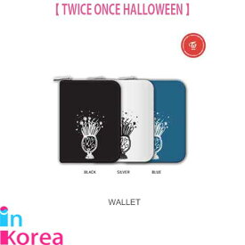 TWICE WALLET(3種) 財布【ポスト投函】/ K-POP TWICE ONCE HALLOWEEN OFFICIAL GOODS WALLET トゥワイス 公式グッズ