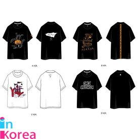 【1次予約限定価】TWICE Tシャツ(4種) / K-POP TWICE ONCE HALLOWEEN OFFICIAL GOODS T-SHIRT トゥワイス 公式グッズ