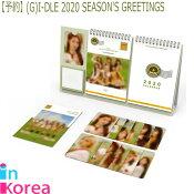 【1次予約限定価】(G)I-DLE2020SEASON'SGREETINGS(G)I-DLE2020年公式カレンダー/K-POP2020年シーズングリーティングGIDLEヨジャアイドル公式シーグリ