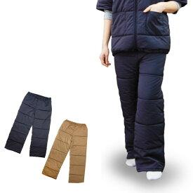 着れるふとん パンツ ルームウエア 冬 レディース 着る布団 毛布 ボトム あったか パジャマ 暖かい 防寒 厚手 厚地 ふわふわ 中綿 冷え性対策 tji461 (03414)