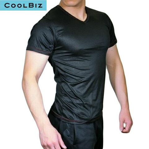 送料無料お試し商品 花柄 吸汗速乾 半袖V首Tシャツ 14120