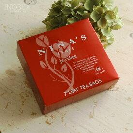 【期間限定!P3倍】ニナス 紅茶 ジュテーム NINAS ティーバッグ 3g x 7袋