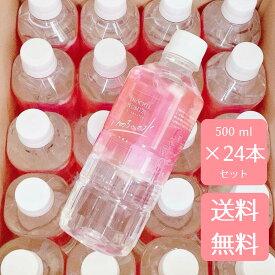 【送料無料+特割】Life Saver いのちへの水(500ml×24本セット) ~美容に効果的な シリカ水 & ダイエット、健康に効果的なサルフェート配合の 天然水~