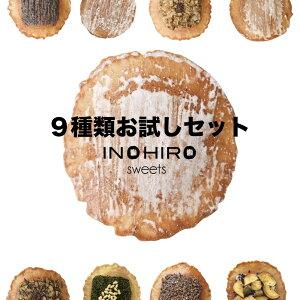 煎餅9種類 お試しセット 送料無料 せんべい お菓子 スイーツ グラノーラ 珈琲 焼き菓子 えごま お試しスイーツ チョコレート 個包装 おやつ
