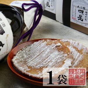 【単品】大吟醸四ツ星コラボ 酒粕入り味噌煎餅 【1袋2枚入り】プチギフト