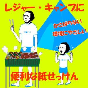 坂本龍馬の紙石鹸(20枚)