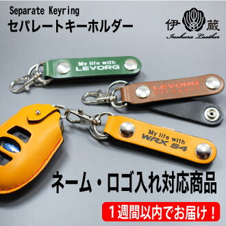 Hold a separate key ring name, and hold a logo; a key ring