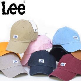 LEE リー ベースボールキャップ 帽子 キャップ ローキャップ ソフトキャップ アメカジ lee ブランド ウォッシュ加工