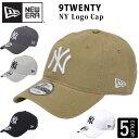 NEW ERA 920 ローキャップ キャップ 帽子 ロゴ ロゴキャップ ニューエラ NY KANKEES ヤンキース 9TWENTY レディース メンズ