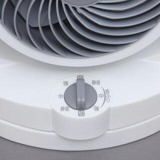 サーキュレーター首振り静音扇風機〜8畳PCF-HD15-W・PCF-HD15-Bホワイト・ブラックタイプHシリーズアイリスオーヤマ