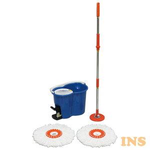 回転モップ KMO-450送料無料 クリーナー フロアモップ モップ モップがけ 水拭き 床掃除 清掃 清掃用品 掃除 アイリスオーヤマ