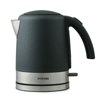 ケトル電気おしゃれ電気ケトルIKE-D1000-WIKE-D1000-B送料無料コーヒー湯沸し湯沸かしポット湯沸かし器やかん電気ポットポットかわいい紅茶ティーコーヒー珈琲茶お茶熱湯ホワイトブラックアイリスオーヤマ