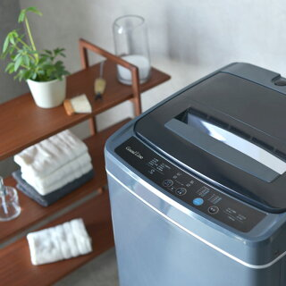 Grand-Line全自動洗濯機5.0kgSWL-W50-W送料無料洗濯機全自動5.0kgせんたく機風乾燥35Lコンパクト白グレーA-Stageホワイトダークグレー【D】