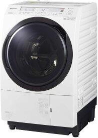 パナソニック ななめドラム洗濯乾燥機 11kg 左開き 液体洗剤・柔軟剤 自動投入 クリスタルホワイト NA-VX800BL-W 送料無料(※一部地域を除く)