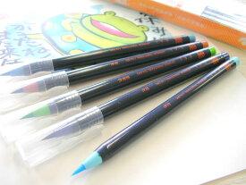 あかしや水彩毛筆 彩 夏を描く 5色セット
