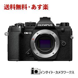 【あす楽】OLYMPUS ミラーレス一眼 オリンパス OM-D E-M5 MarkIII ボディ ブラック E-M5 Mark3 Body BK 本体