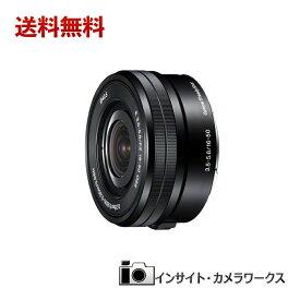 SONY 標準ズームレンズ E PZ 16-50mm F3.5-5.6 OSS SELP1650 ブラック ソニー
