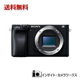 SONY α6400 ILCE-6400 ボディ ブラック ソニー ミラーレス一眼カメラ アルファ 黒