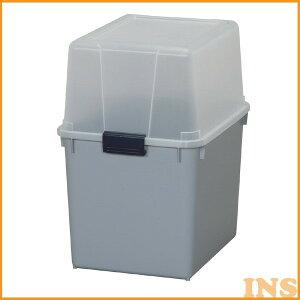 ポリタンクBOX クリア/グレー AB-360 アイリスオーヤマ 物置 小型物置 収納庫 屋外収納 ベランダ収納