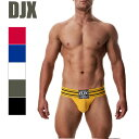 DJX Brutus Jock アンダーウェア 男性パンツ ジョックストラップ 通気性 インナー パンツ セクシー フロントアップ