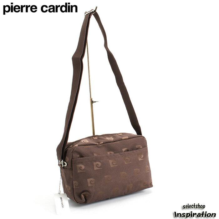 ピエールカルダン バッグ ショルダーバッグ 茶 Pierre Cardin pcc146-00 レディース 婦人