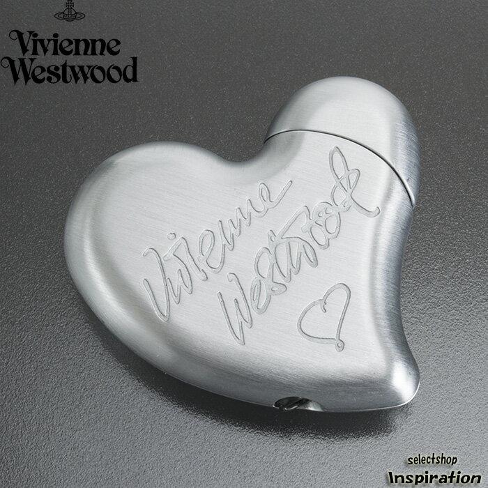 展示品箱なし ヴィヴィアンウエストウッド ライター ガスライター Vivienne Westwood シルバー 20140430-3