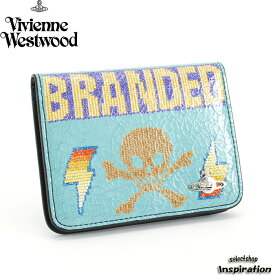 <クーポン配布中>展示品箱なし ヴィヴィアンウエストウッド パスケース 定期入れ カードケース 水色系 620 Vivienne Westwood 3618j363 レディース 婦人