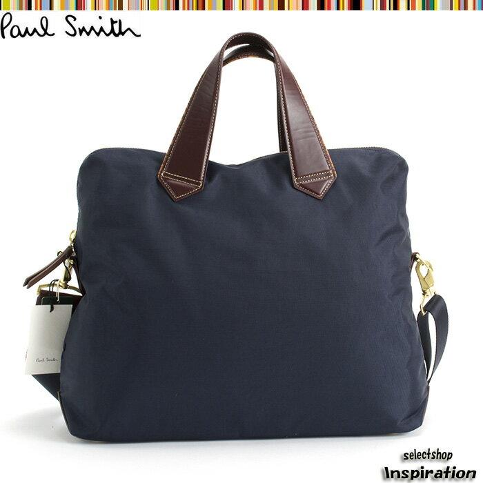 ポールスミス バッグ ビジネスバッグ 2way 紺 Paul Smith psf162-30 メンズ 紳士