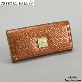 <クーポン配布中>クリスタルボール 財布 長財布 オレンジ Crystal Ball cbk164-42 ブランド レディース 婦人
