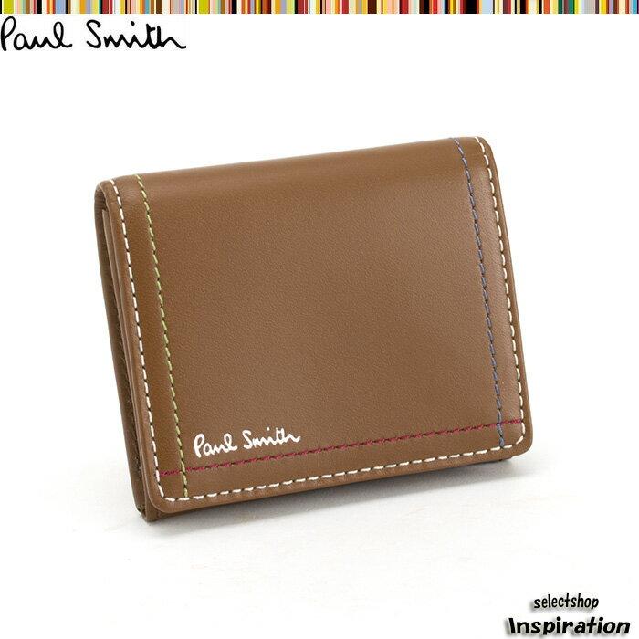 ポールスミス 財布 小銭入れ コインケース キャメル Paul Smith psk702-70 ブランド メンズ 紳士