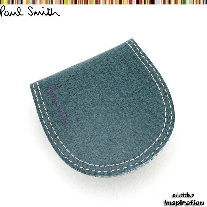ポールスミス 財布 小銭入れ コインケース ターコイズ Paul Smith psp612-37 ブランド メンズ 紳士