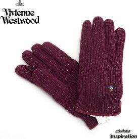 <クーポン配布中>ヴィヴィアンウエストウッドマン 手袋 ワイン Vivienne Westwood MAN 90vl229985-590 メンズ 紳士